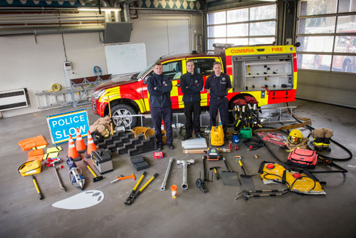Cumbria Fire and Rescue Service to launch recruitment drive for full